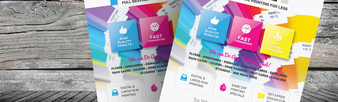 Flyer printing johannesburg